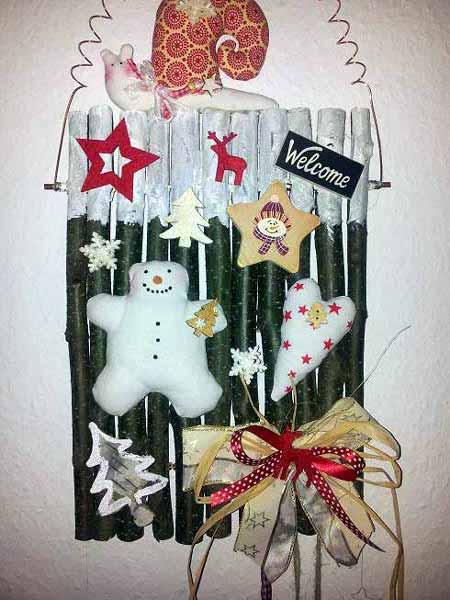 Weihnachts Türschild